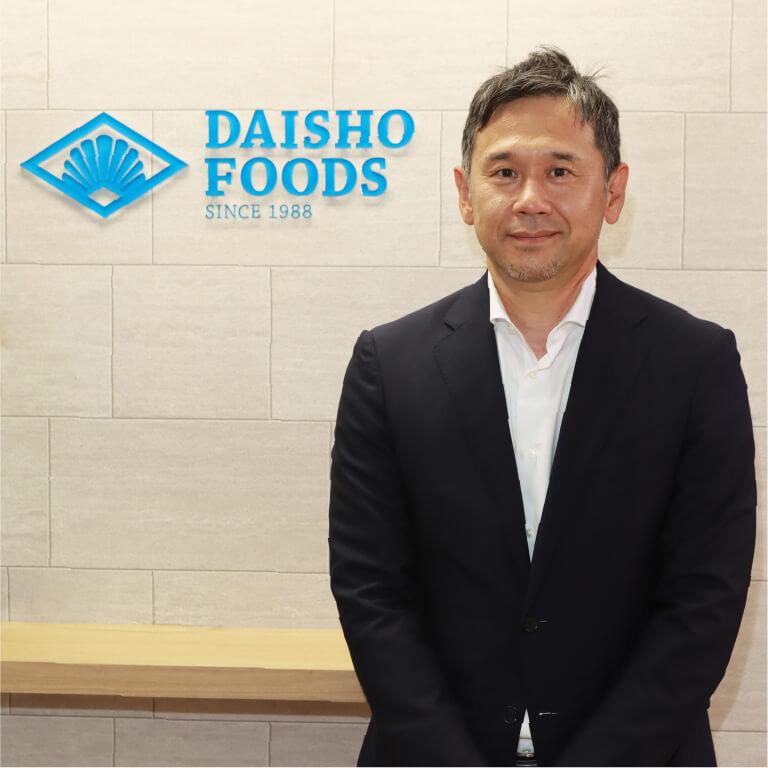 大勝フーズ株式会社 代表取締役社長 渡辺 幹夫